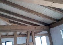 Sichtbare Holzarbeiten