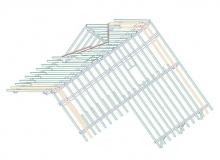 Sichtbare Holzarbeiten - Planung